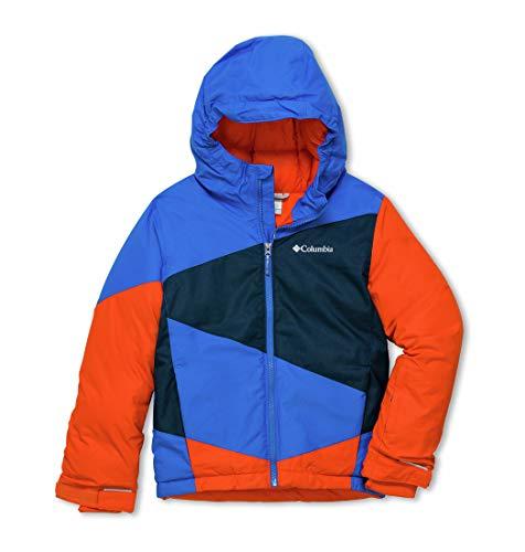Columbia Jungen Ski-Jacke, Wildstar, Blau (Super Blue,