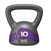Body Sculpture SXBW-117-10KG-B Soft Iron Kettlebell Grey/Purple 10kg