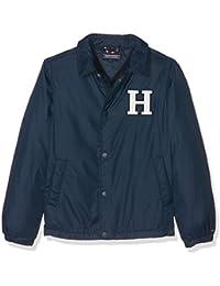 Tommy Hilfiger Ame Thkb Basic Coach Jacket, Chaqueta Punto para Hombre