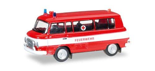 Herpa 66556Barkas B 1000Front Bomberos/Cruz Roja en Miniatura Vehículo