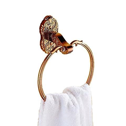 SDKIR-Continental Rose - Gold Ring Handtuch Handtücher Bad hardware Zubehör handtücher Badezimmer Handtuchhalter Stil