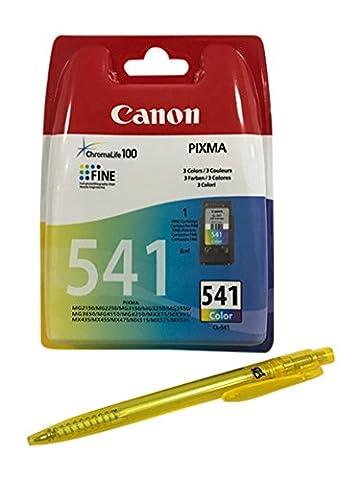 Cartouches d'encre pour Imprimante Canon Pixma Pixma MG2150, MG2250, MG3150, MG3250, MG3550, mg3650, MG4150, MG4250, MX375, MX395, MX435, MX475, MX515, MX525, MX535Livré avec le stylo à bille