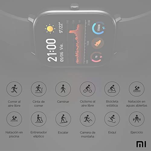 Xiaomi Amazfit GTS Reloj Smartwactch Deportivo | 14 días Batería | GPS+Glonass | Sensor Seguimiento Biológico BioTrackerTM PPG | Frecuencia Cardíaca | Natación | Bluetooth 5.0 (iOS & Android) Rose- Gold