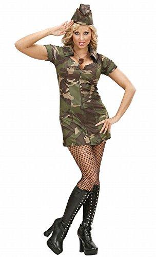 WIDMANN Soldatessa Vestito Cappello Costumi Completo Adulto Party E Carnevale 230
