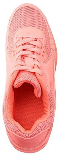Elara, Sneaker donna arancione Orange Pink Gruen 39 Pink