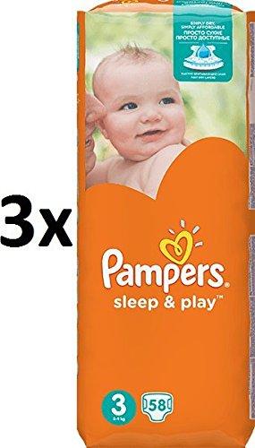 Pampers - Sleep & Play Economy 3 Midi - 174 p