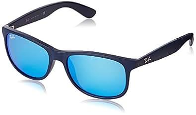 Ray-Ban 4202 Occhiali da sole, Colore Blu (Shiny Blue On Matte Top)