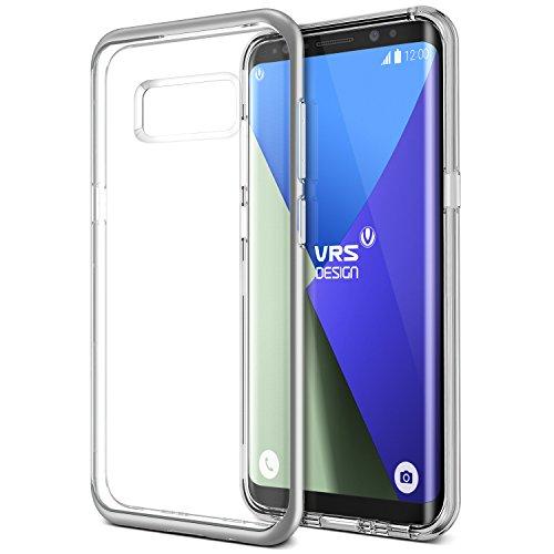 Galaxy S8 Plus Hülle, VRS Design® Silikon Schutzhülle [Silber] Transparent Schlagfesten Stoßstangen Durchsichtige Case TPU Handyhülle Clear cover [Crystal Bumper] für Samsung Galaxy S8 Plus 2017