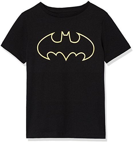 RED WAGON T-Shirt Batman en Coton Garçon, Noir (Black 001), 5 Ans