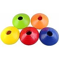 Bigtron Conos de disco para el fútbol, baloncesto y fútbol entrenamiento de la agilidad (Pack de 10)