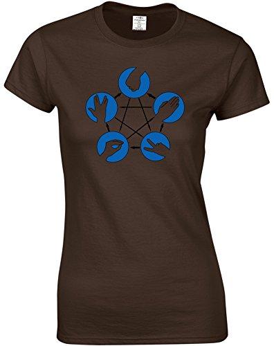 Eat Sleep Shop Repeat -  T-shirt - Donna Cioccolato scuro
