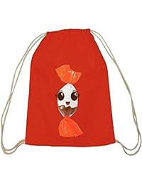 ShirtStreet Turnbeutel süßes Schokoladen BonBon Partner Kostüm für Fasching Karneval für Naschkatzen