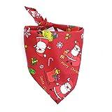 LAAT Hundehalstuch - Weihnachten Haustier-Hundewelpen-Katze Kragen Halstuch Halstuch Bandana für Ties Pets Katzen Weihnachtsmann Party (Grün)