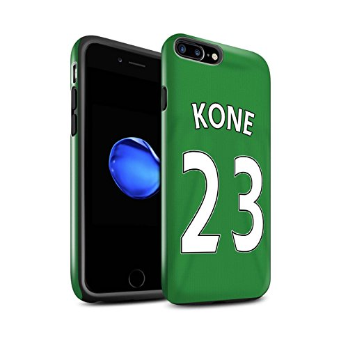 Officiel Sunderland AFC Coque / Brillant Robuste Antichoc Etui pour Apple iPhone 7 Plus / Footballeur Design / SAFC Maillot Extérieur 15/16 Collection Kone