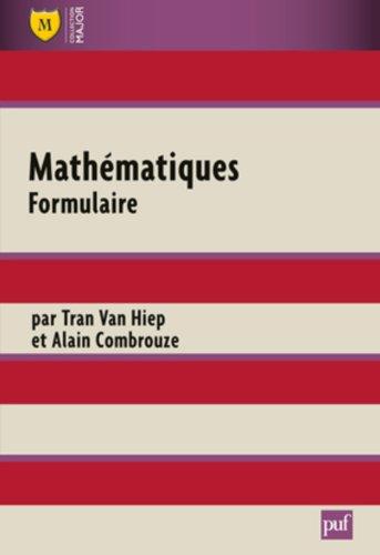 Mathmatiques. Formulaire