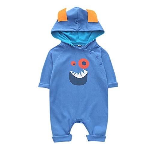 Snakell Baby Strampler Schlafanzug Baumwolle Overalls Säugling Spielanzug Baby-Nachtwäsche Kleidung, Neugeborenes Star Kleidung Sets, Hosen Tops Hut Cute Jumpsuit Outfit Body