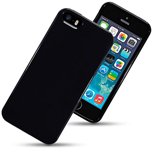 iphone-se-case-silicone-gel-cover-solid-black-protective-bumper-shockproof-tpu-for-apple-iphone-5-ip