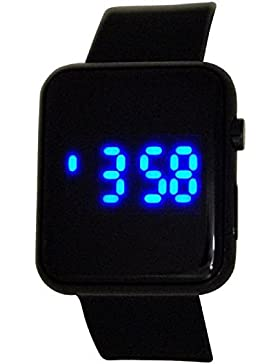 Reflex Teenage Digital Multifunktion Schwarz Gummi Casual Armbanduhr ref0080