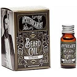 Apothecary 87profesional barberos la barba sin aroma aceite 10ml