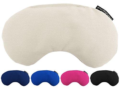 Leinsamen Augenmaske für Augenlidentzündung (1. Natürliche Baumwolle)