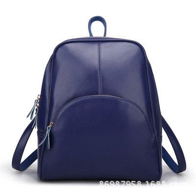 TSLX-Neue Winter Leder Handtasche Schultertasche Tasche blue