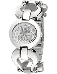 Just Cavalli Damen-Armbanduhr Analog Quarz Edelstahl R7253109501