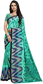 Vaamsi georgette with blouse piece Saree (PC1064_ Multicoloured_ One Size)