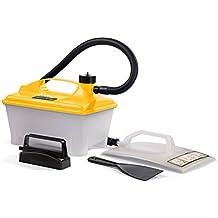 Wagner Dampftapetenablöser W 16, Dampfkraft 60 g/min, Behälter 5 l, Dampfzeit max. 80 min, zusätzliche kleine Dampfplatte & Spachtel