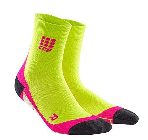 CEP Women's Dynamic Short Socks - Green, Size II by CEP