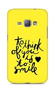 AMEZ to think of you is to smile Back Cover For Samsung Galaxy J1 (2016 EDITION)