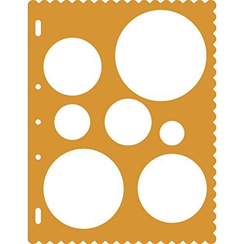Fiskars ShapeCutter Schablone, Schablone zum Erstellen von Kreisen, 1003823