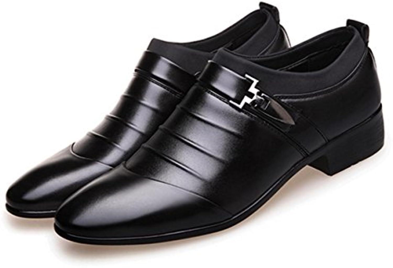 HYLM Männer Business Casual Schuhe spitz / Smoking Schuhe / Hochzeit Schuhe