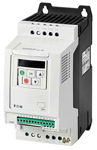 Eaton 169120 Frequenzumrichter, 3-/3-phasig 400 V, 4,1 A, 1,5 kW, Vektorsteuerung, EMV-Filter, Bremstransistor