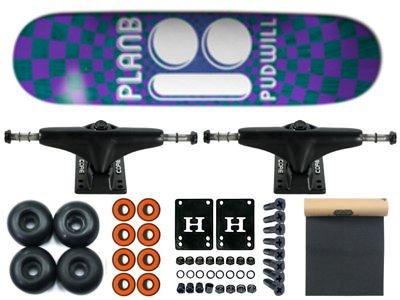 Plan B Pudwill Optical Komplett Skateboard 7.75 7.75