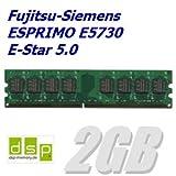 2GB Speicher / RAM für Fujitsu-Siemens ESPRIMO E5730 E-Star 5.0
