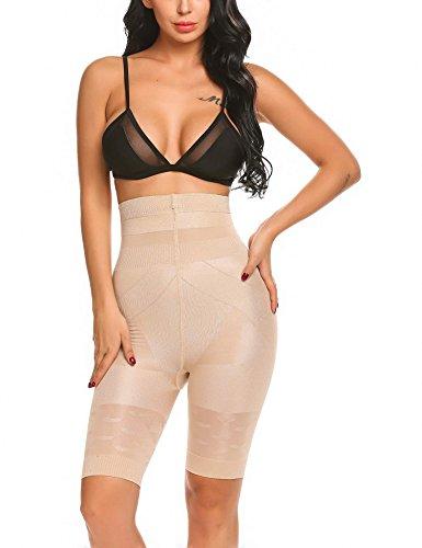 Scallop Braguita Moldeadora Shapewear Mujer Braguitas Hola-Cintura Braga Faja Reductora Body