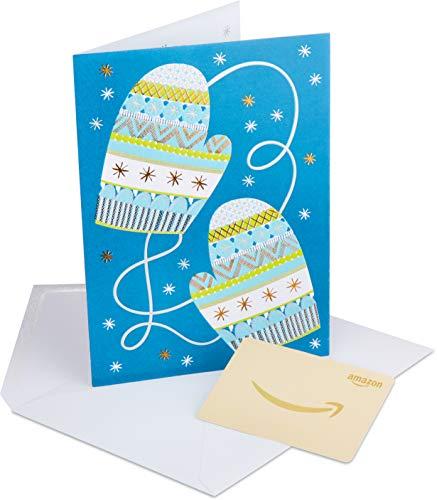 Amazon.de Geschenkkarte in Premium Grußkarte  (Winter)