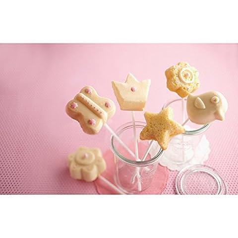 Moule en silicone pour pop-cakes De bon cœur