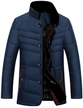 MHGAO Por la chaqueta chaqueta caliente chaquetas de invierno Nueva Ropa de Hombre , blue , l