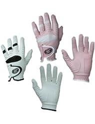 Skymax - Guantes de Golf Para Mujer Para Todo Tipo De Clima - Rosa, Mediano