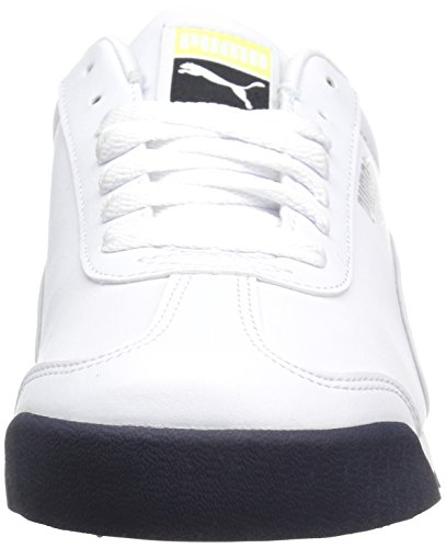 Puma  Roma Basic, Baskets mode pour homme White-teamregalRed Puma White-gray Violet