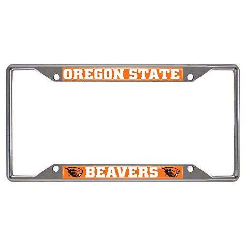 FANMATS 16838 Oregon State University License Plate Frame