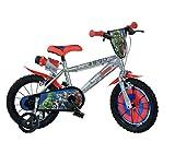 Dino Bikes Marvel Heroes Vélo Garçon sous Licence Avengers 16 Pouces-5 à 8...