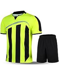 Kelme T-shirt de sport à manches courtes à rayures Uniforme