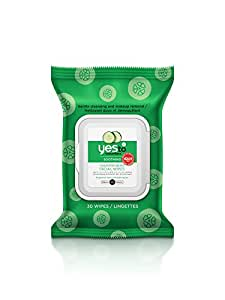 Yes To Cucumbers Soothing Hypoallergenic Facial Wipes (30 Count)