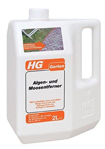 HG Algen- und Grünbelagentferner 2,0 L