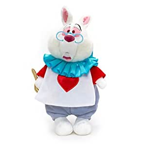 Disney , Poupée chiffon Alice au Pays des Merveilles - Lapin Blanc