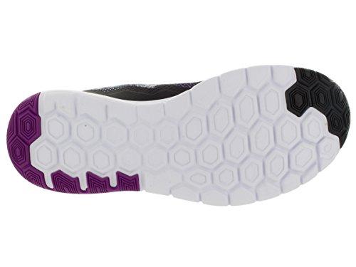 Nike - Flex Experience Run 4 Premium, Pantofole Donna Black/Vivid Purple/White