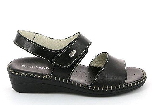 GRUNLAND , Sandales de marche pour femme Noir - Nero