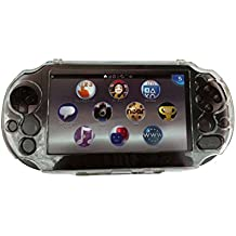 OSTENT Cubierta protectora Clear Crystal Hard Guard Case compatible con Sony PS Vita PSV PCH-2000
